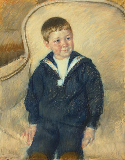 Mary Cassatt, 'Portrait of Master St. Pierre as a Young Boy', 1906