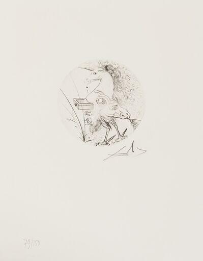 Salvador Dalí, 'Le métamorphoses érotiques (Field 69-15; M&L 342d)', 1969