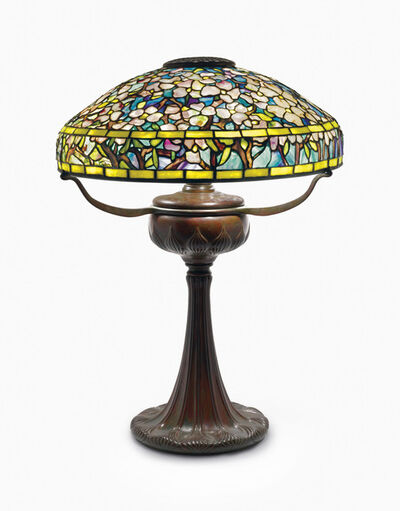 Tiffany Studios, 'A 'Dogwood' Table Lamp', circa 1910