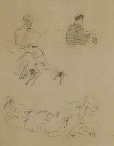 Arthur Rackham, 'FIGURE STUDIES'