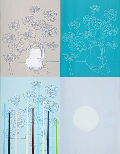 Trey Speegle, '11 Reasons To Love You (blue)', 2008