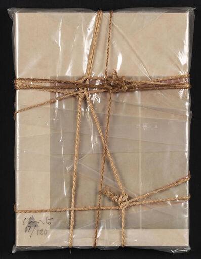 Christo, 'Wrapped Book Modern Art', 1978