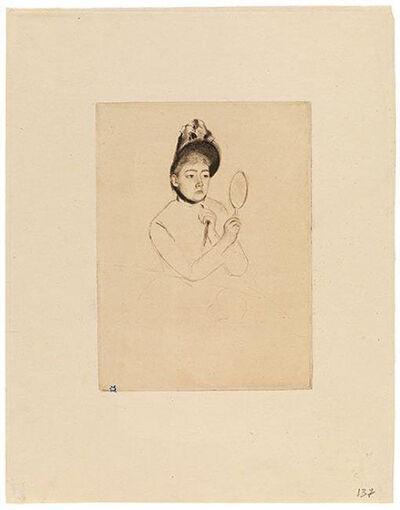 Mary Cassatt, 'The Bonnet', ca. 1891