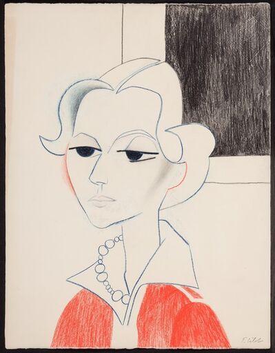 Françoise Gilot, 'Claire's Fancy Necklace', 1953