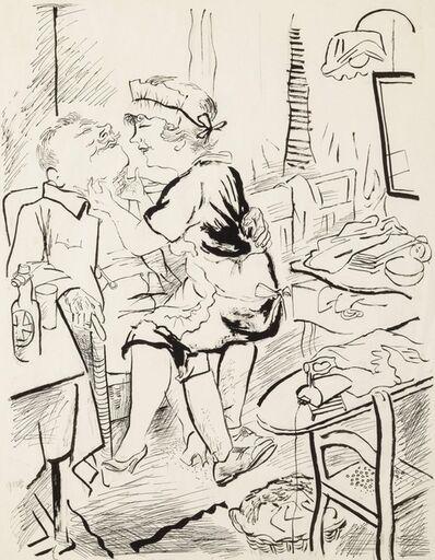 George Grosz, 'Liebespaar (Loving couple)', 1932