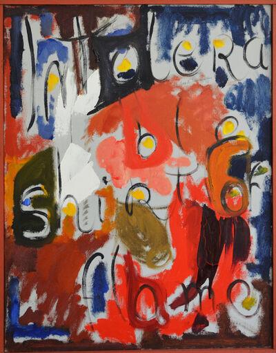 Ethel Schwabacher, 'Ode X', 1951