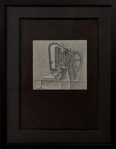 Konrad Klapheck, 'Inquisition (Große Nähmaschine)', 1974
