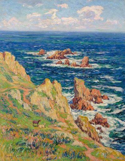 Henry Moret, 'Rochers de Penharn Baie de Douarnenez,', 1911