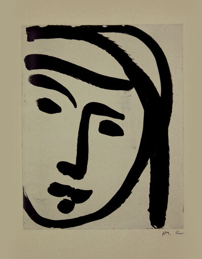 Henri Matisse, 'Bedouine au large visage', 1947