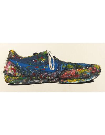 Mr. Brainwash, 'Blue Shoe', 2010