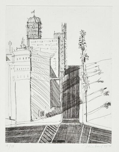 Wayne Thiebaud, 'Hotel Corner', 1979-1998