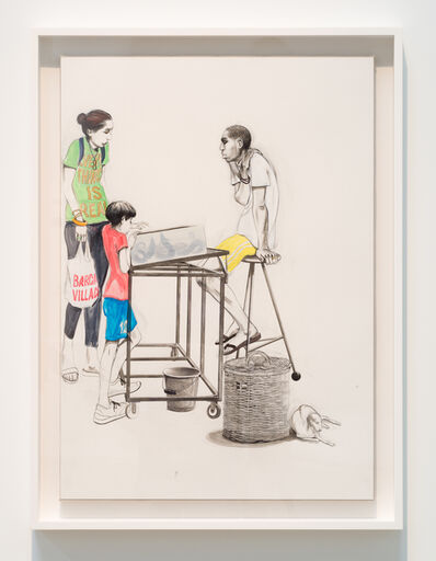 Charles Avery, 'Untitled (Eel Seller, Onomatopoeia)', 2019