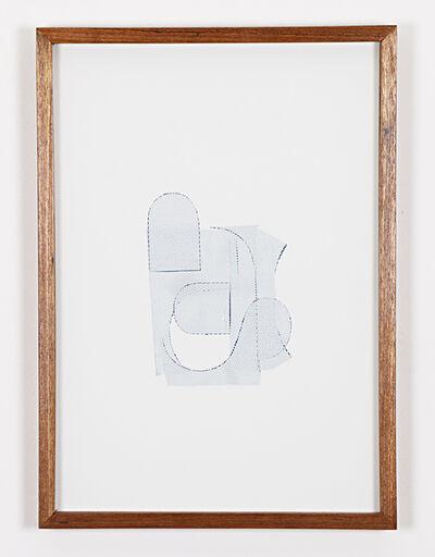Cristiano Lenhardt, 'Colagens brancas', 2014