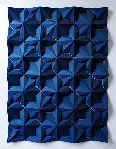 Matt Shlian, 'Ara 312 Indigo', 2017
