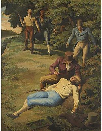 Robert Riggs, 'The Burr - Hamilton Duel', 20th Century