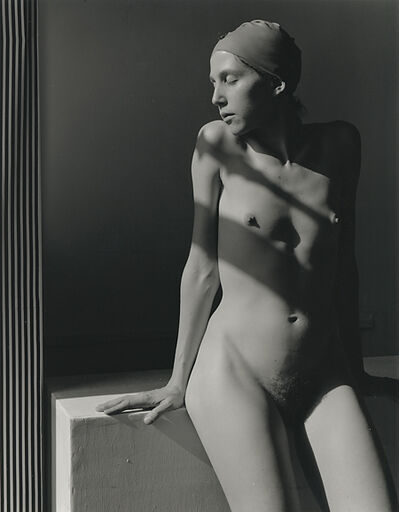 Marsha Burns, 'Untitled Nude, (Woman in Bathing Cap)', 1978