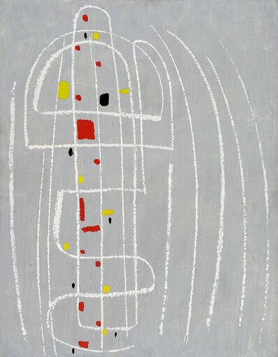 Max Ackermann, 'Weiße Linien triumphieren', 1954