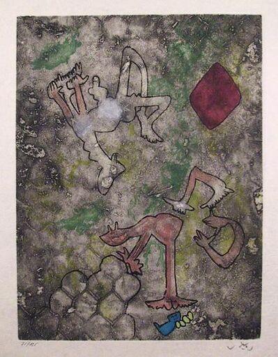 Roberto Matta, 'Centre Noeuds, Plate 8', 1974