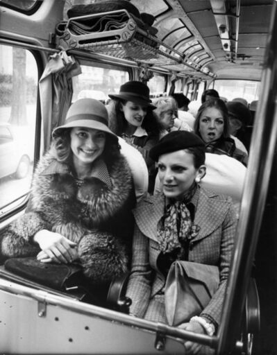 Bill Cunningham, 'Hats are the big news in Paris', ca. 1980s