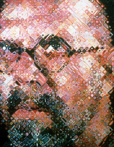 Chuck Close, 'Self-portrait', 2000