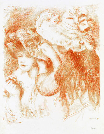 Pierre-Auguste Renoir, 'Le Chapeau Epinglé (The Hat Secured with a Pin), 1e planche', 5951