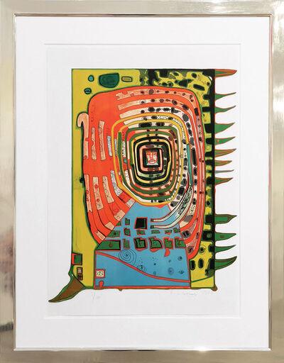 Friedensreich Hundertwasser, 'Das falsche Augenlid', 1967