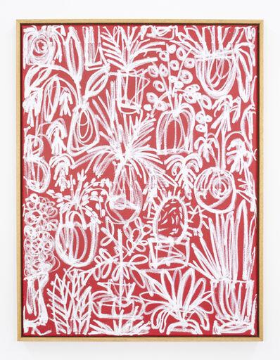 B.D. Graft, 'White on Red', 2020