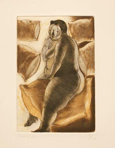 """Francisco Toledo, '""""La mujer que soñaba con Durero"""" ', 1975-1990"""