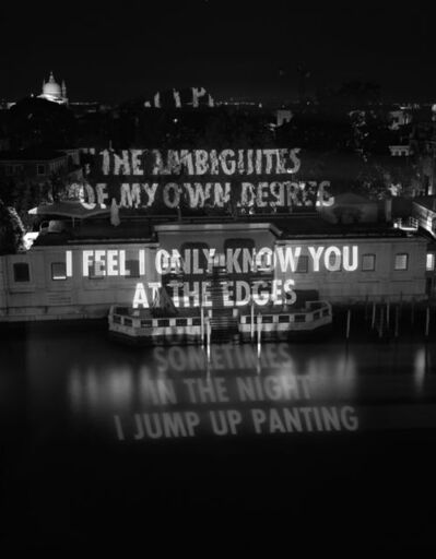 Jenny Holzer, 'THE AMBIGUITIES OF MY OWN DESIRES... ', 2005