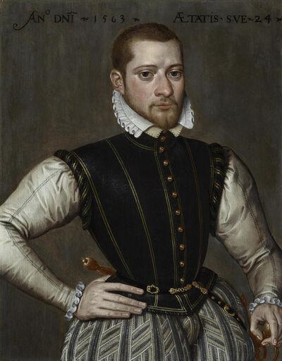 Antonius Claeissens, 'Robert van Belle, Lord of Schonewalle (c.1539/40 – c.1572)', 1563