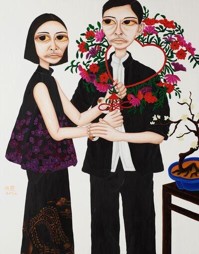 Liu Yi-Lan 柳依蘭, 'Portrait of Beauties - Taming Husband', 2012