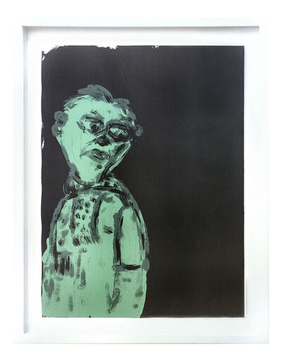 Russ Pope, 'BLACK AND GREEN', 2019