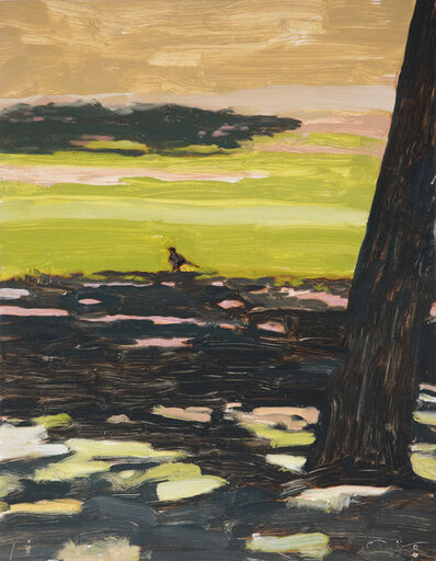Peter Ligon, 'Bird and Shadow at Waterfall Park', 2019