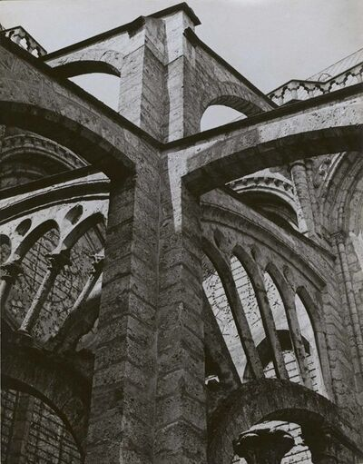 Charles Sheeler, 'Chartres - Flying Buttresses at the Crossing', 1929