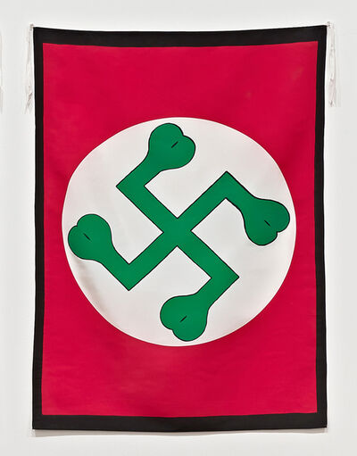 Mike Kelley, 'Twisted Shamrock', 1989