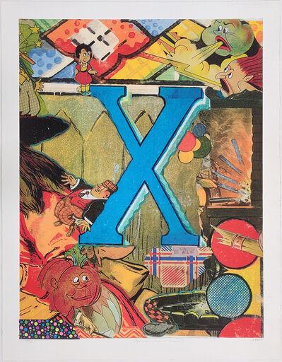 Bruce Helander, 'LOVE LETTERS: LETTER X', 1998