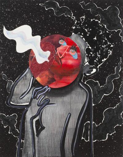 Devan Shimoyama, 'Red Moon Breathing ', 2015