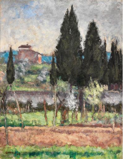 Ardengo Soffici, 'Paesaggio', 1947