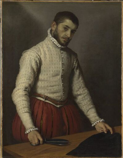 Giovanni Battista Moroni, 'The Tailor', 1565-1570