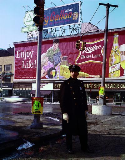 Evelyn Hofer, 'Policeman 59th St., New York', 1964