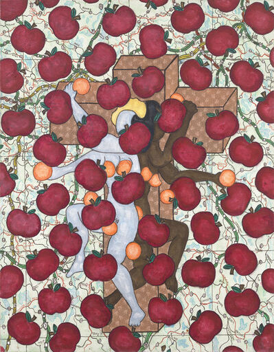 William Nelson Copley, 'Untitled (Apples and Oranges)', 1986