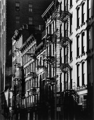 Evelyn Hofer, 'Fire Escapes, New York', 1965