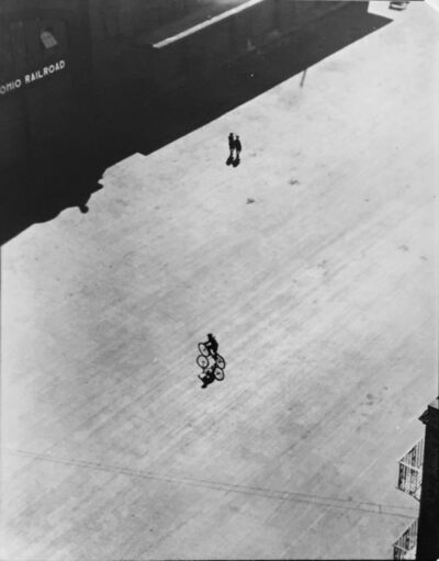 Ralph Steiner, 'Bicycle with Shadow', 1922