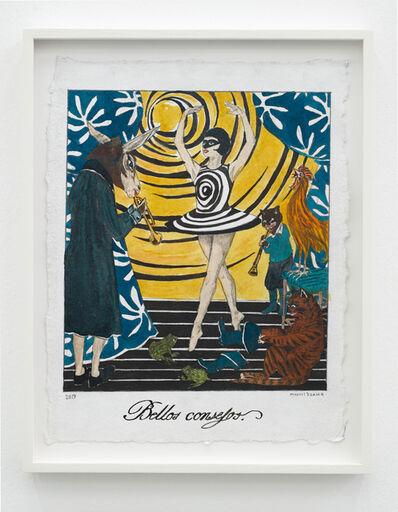 Marcel Dzama, 'Bellos Consejos (pretty teachings)', 2019