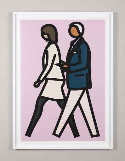 Julian Opie, 'New York Couple 7', 2019