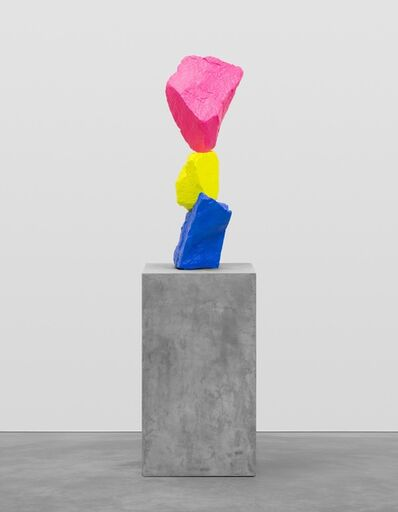 Ugo Rondinone, 'Blue yellow pink mountain', 2015