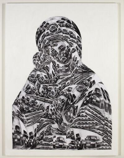 Thomas Bayrle, 'Madonna Mercedes', 1989