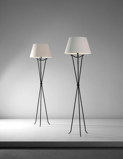 Jean-Michel Frank, 'Pair of standard lamps', designed 1921-executed ca. 1940