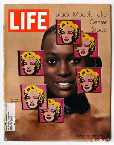 Dennis Koch, 'LIFE Cutout No. 140 (October 17, 1969, Black Models Warhol)', 2018