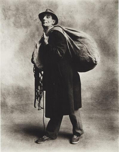 Irving Penn, 'Rag and Bone Man, London', 1950